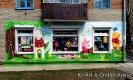 Роспись фасада детского магазина в Новосибирске
